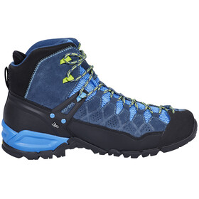 Salewa M's Alp Trainer Mid GTX Shoes Dark Denim/Cactus
